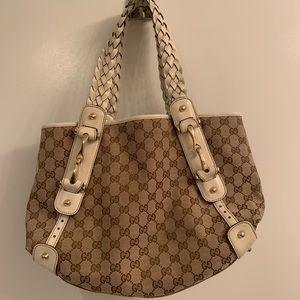 Authentic Pelham Gucci GG medium shoulder bag